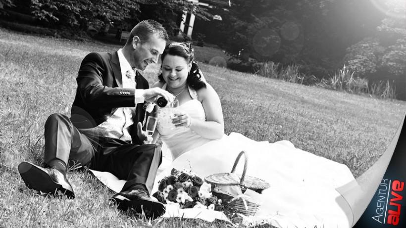 Hochzeitsreportage in Farbe