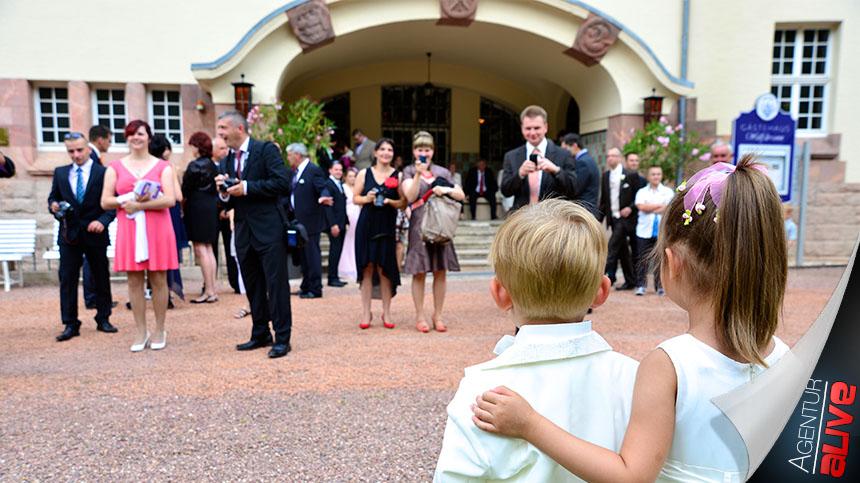 Hochzeit im Schloß