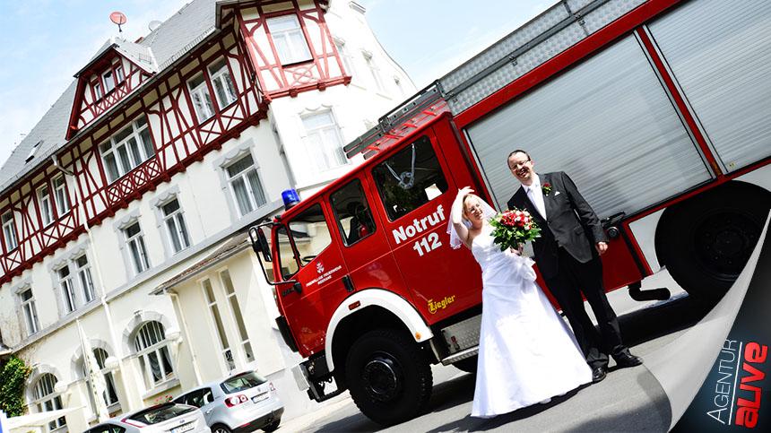 Im Zeichen der Feuerwehr