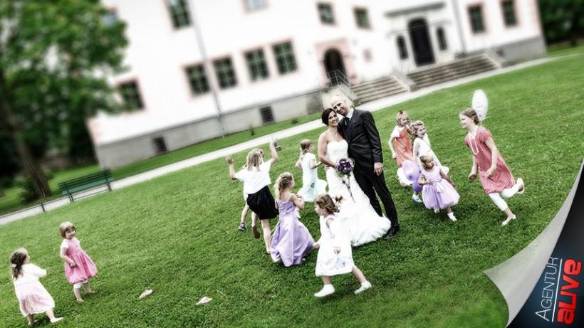 Hochzeit im Schloß Ponitz